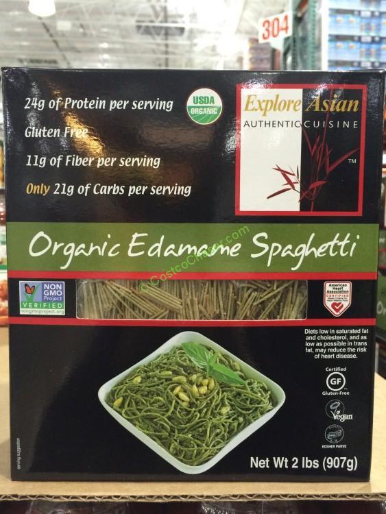 Explore Asian Organic Edamame Spaghetti  February 2016 – CostcoChaser