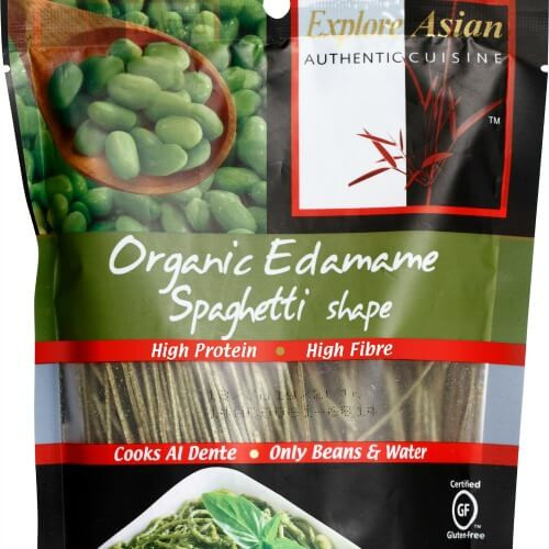Explore Asian Organic Edamame Spaghetti  11 new health products we love this month May edition