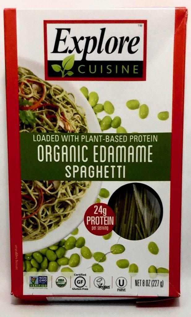 Explore Cuisine Organic Edamame Spaghetti  January 2018 Degustabox Review & Coupon Code
