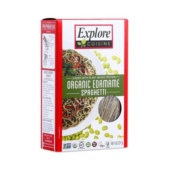 Explore Cuisine Organic Edamame Spaghetti  Organic Edamame Spaghetti by Explore Cuisine Thrive Market