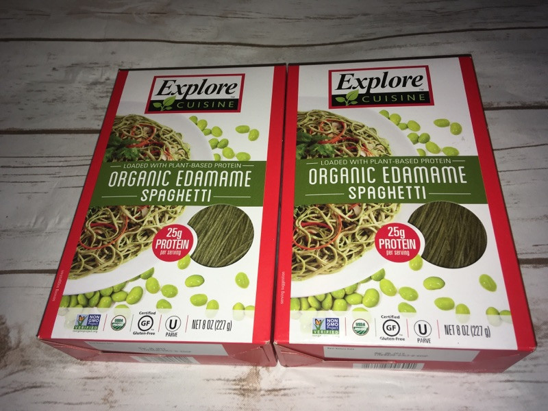 Explore Cuisine Organic Edamame Spaghetti  Summertime Snacks and Drinks For The Entire Family