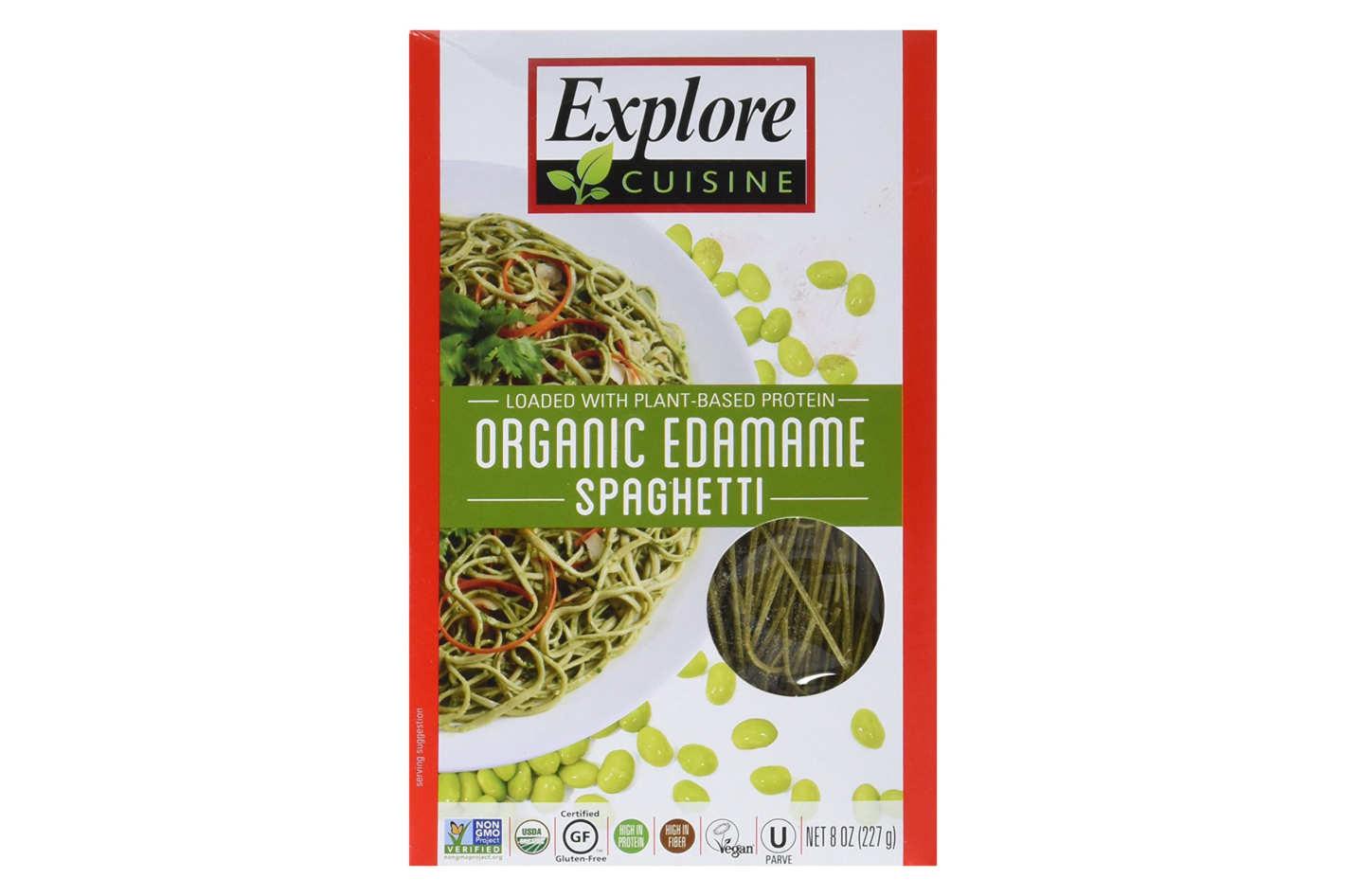 Explore Cuisine Organic Edamame Spaghetti  Best Gluten Free Plant Based Pasta Review 2017