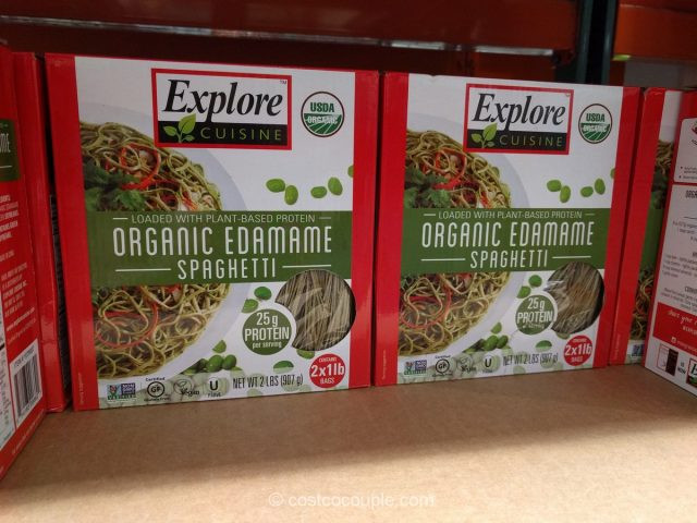 Explore Cuisine Organic Edamame Spaghetti  Explore Cuisine Organic Edamame Spaghetti