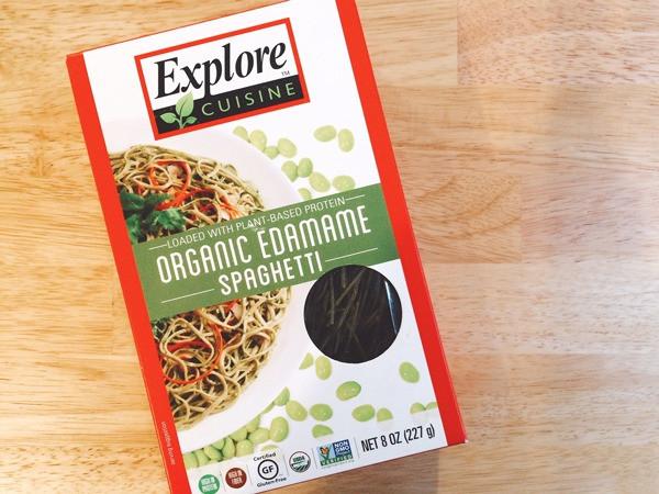 Explore Cuisine Organic Edamame Spaghetti  25 Best Clean Snacks to Buy line