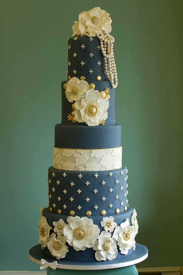 Exquisite Wedding Cakes  PRETTIEST WEDDING CAKES WITH EXQUISITE DETAILS Weddbook