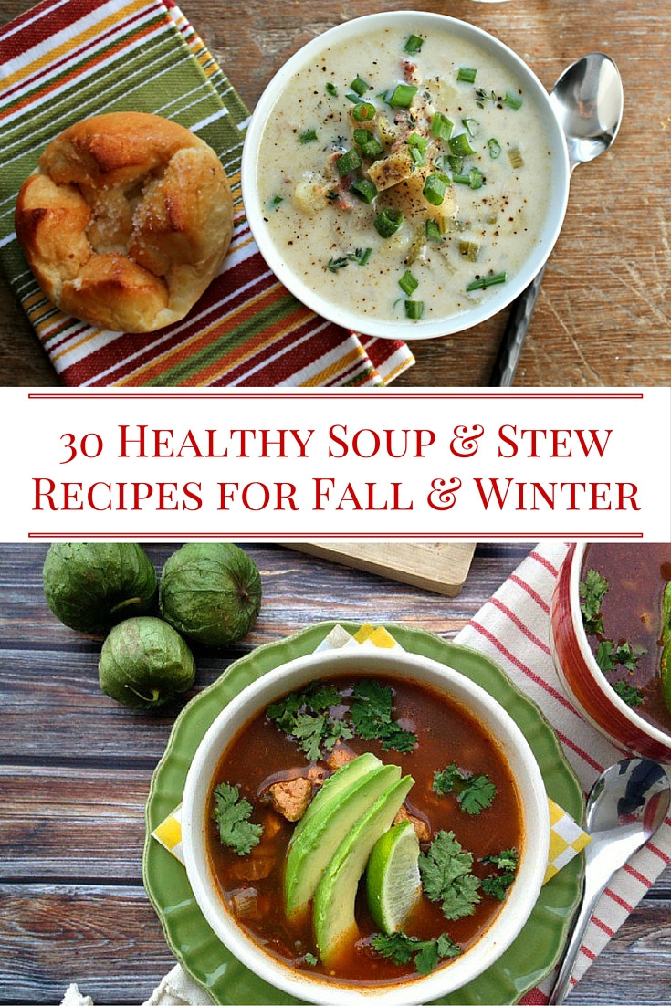 Fall Soups Healthy  30 Healthy Soup and Stew Recipes Alissa Rumsey RD