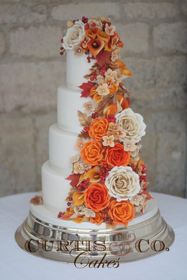Fall Themed Wedding Cakes  32 Amazing Wedding Cakes Perfect For Fall