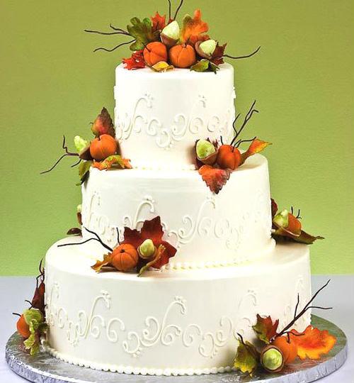 Fall Themed Wedding Cakes  Fall Themed Wedding Cakes Best of Cake