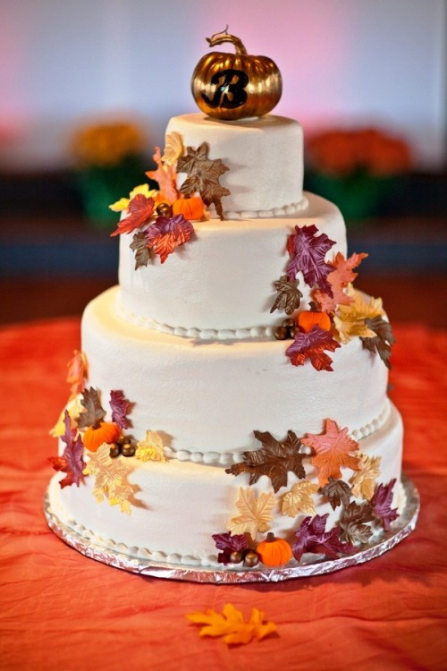 Fall Wedding Cakes  24 Great Ideas for Fall Wedding Cake Decoration Style