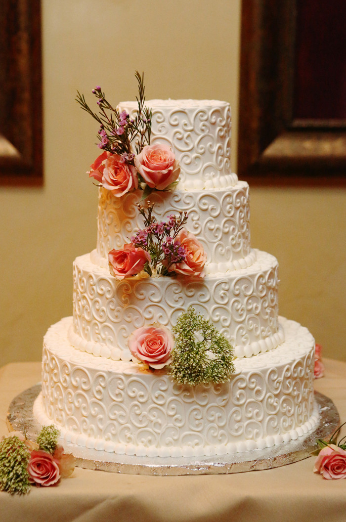 Fall Wedding Cakes  Rustic Vintage New Jersey Wedding Rustic Wedding Chic