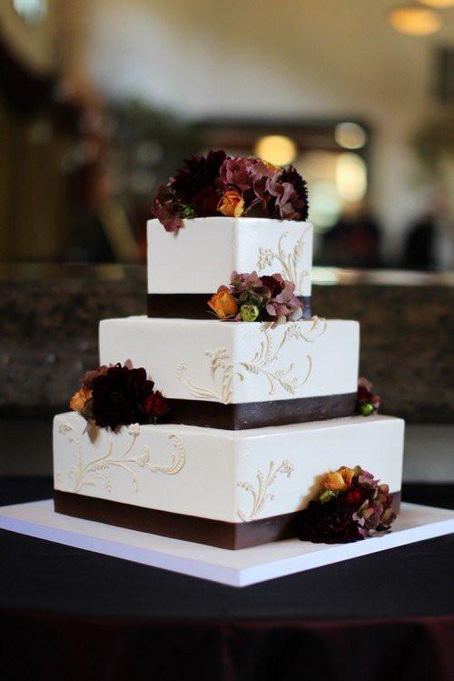 Fall Wedding Cakes  15 Fall Wedding Cake Ideas You May Love Pretty Designs