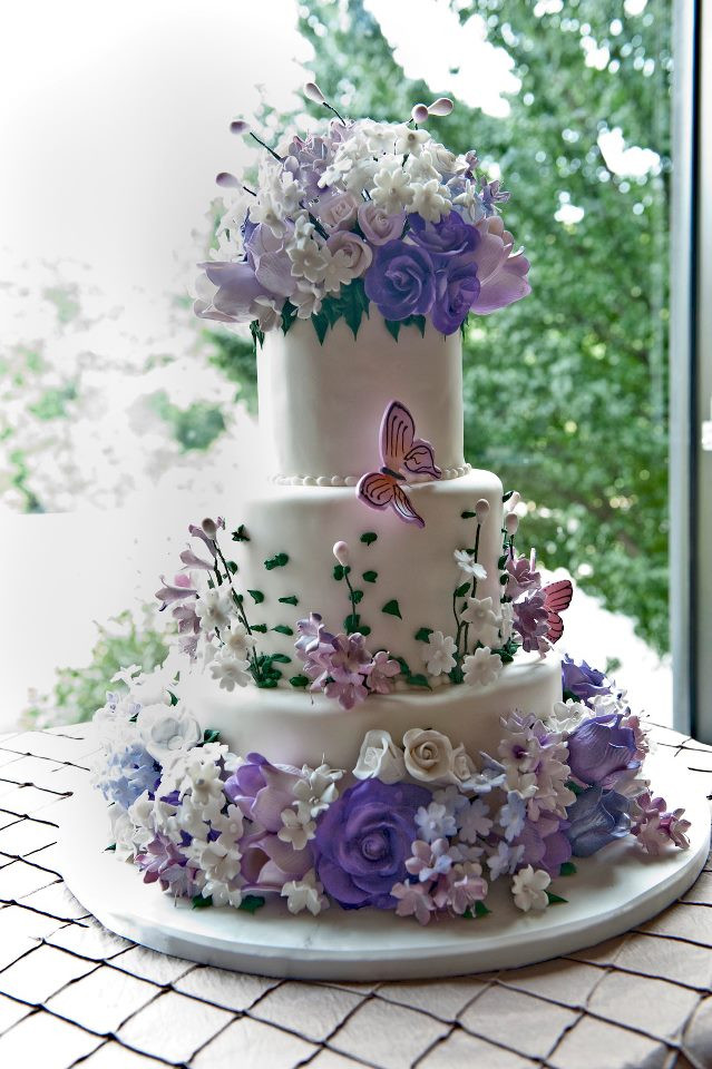 Fancy Wedding Cakes  Cakes Washington DC Maryland MD Wedding Cakes Northern VA
