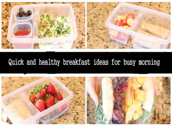 Fast And Healthy Breakfast  Quick And Healthy Breakfast Ideas For Busy Morning
