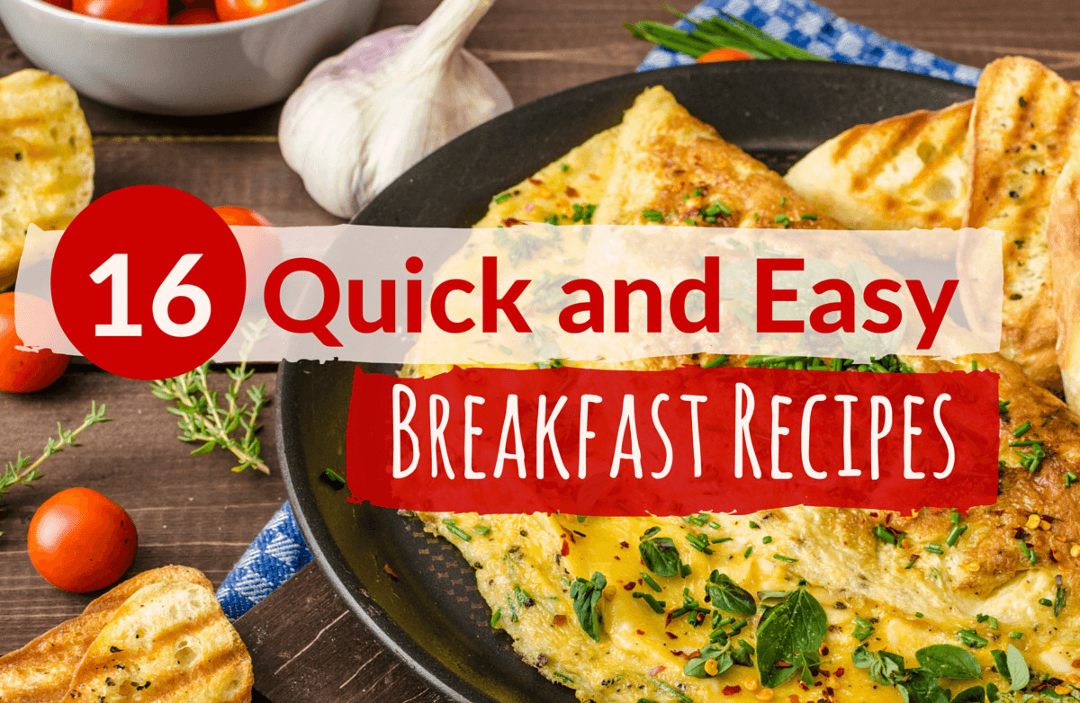 Fast And Healthy Breakfast  Quick and Healthy Breakfast Ideas