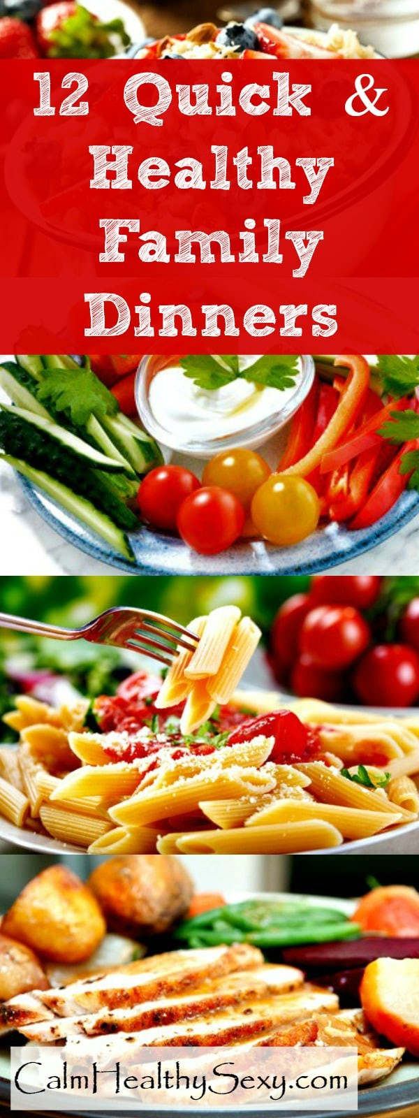 Fast Easy Healthy Dinners  12 Quick and Healthy Family Dinners For Busy Moms with