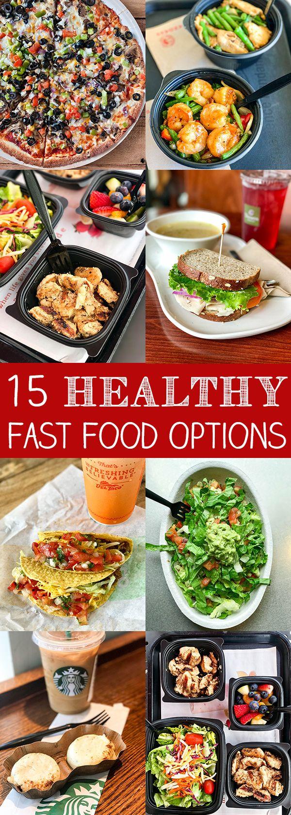 Fast Food Healthy Breakfast  25 best ideas about Fast foods on Pinterest