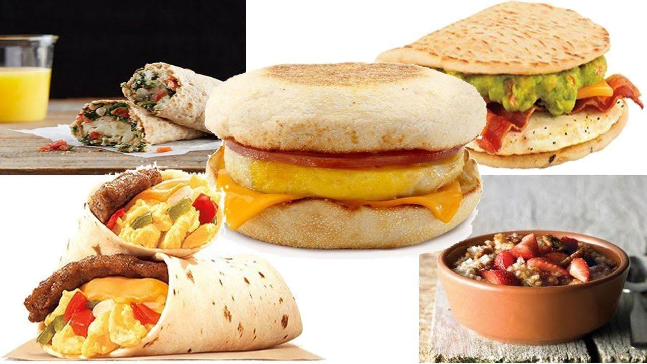 Fast Food Healthy Breakfast  healthy breakfast fast food