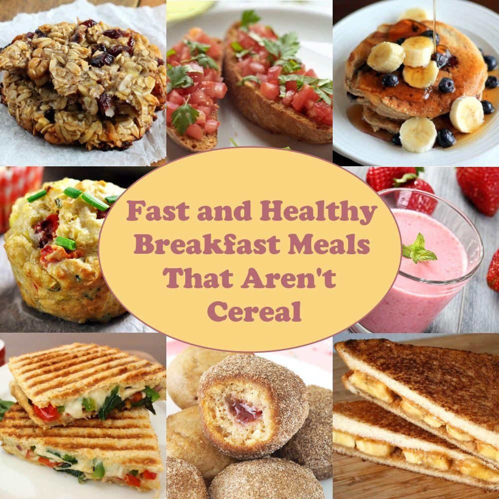 Fast Healthy Breakfast  Fast and Healthy Breakfast Meals That Aren t Cereal