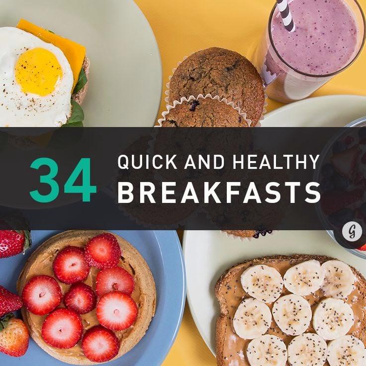 Fast Healthy Breakfast  Weber Wellness Start Your Day with Breakfast PLUS Enter