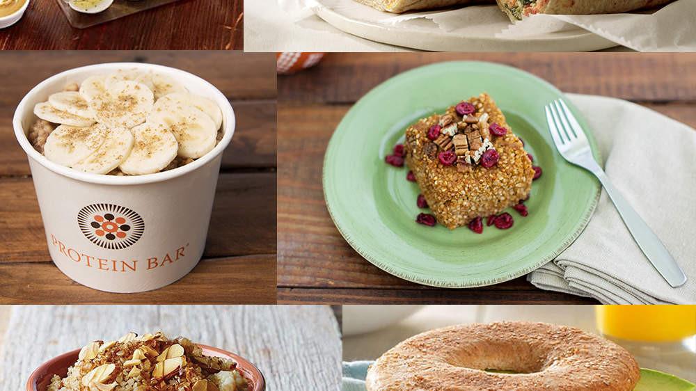 Fast Healthy Breakfast To Go  healthy breakfast fast food