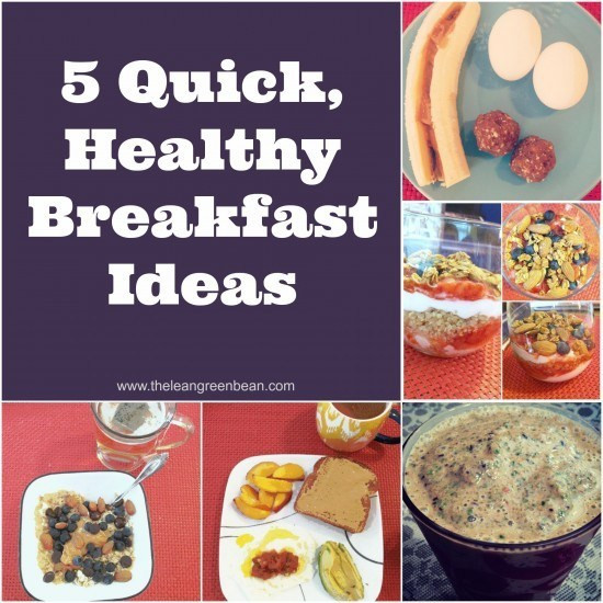 Fast Healthy Breakfast To Go  5 Quick Healthy Breakfast Ideas from a Registered Dietitian
