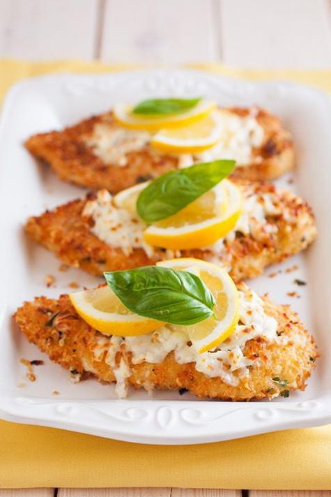 Fast Healthy Dinner  Cheesy & Crispy Lemon Chicken – Best Healthy Fast Food