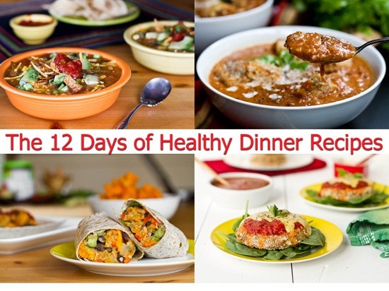 Fast Healthy Dinner  The 12 Days of Healthy Dinner Recipes — Oh She Glows