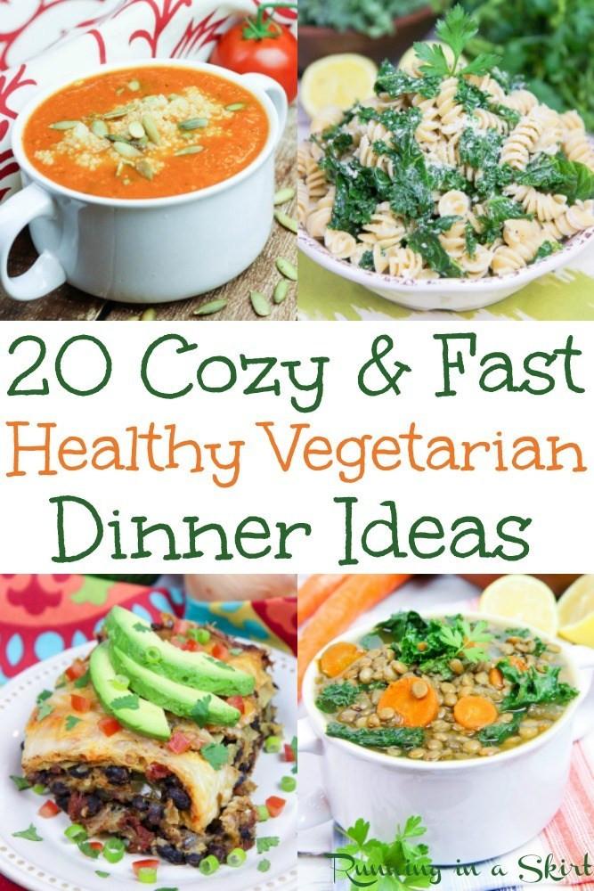 Fast Healthy Dinner  20 Hearty Ve arian Dinner Ideas
