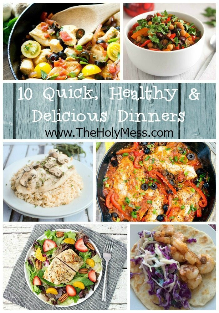 Fast Healthy Dinners For Two  10 Quick and Healthy Family Dinner Ideas