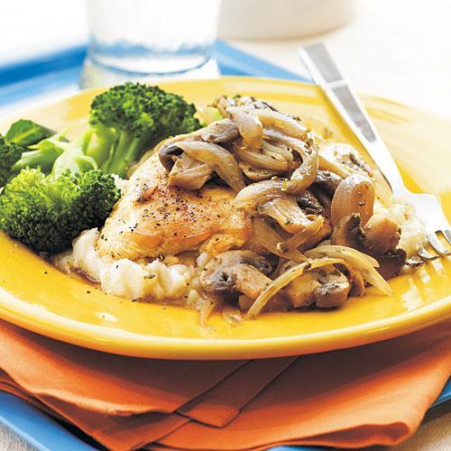 Fast Healthy Dinners  Mushroom Herb Chicken 5 Ingre nt Chicken Recipes