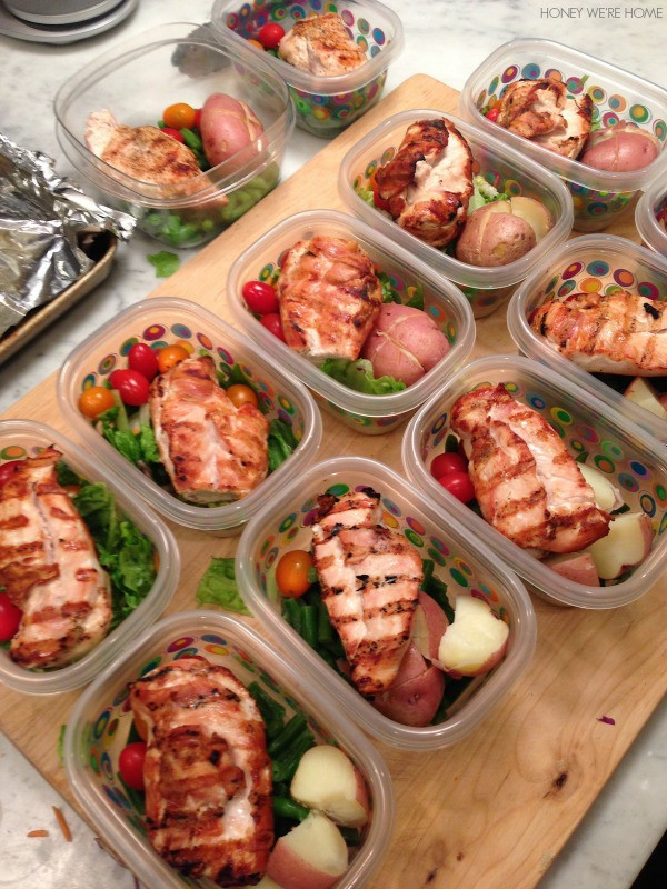 Fast Healthy Lunches  Honey We re Home Quick & Easy Contest Meal Prep