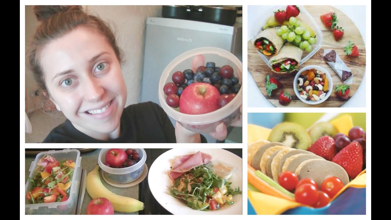 Fast Healthy Lunches For Work  DIY Quick & Easy Healthy Lunch Box Ideas for School