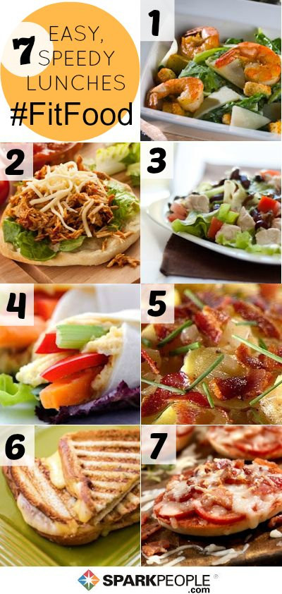 Fast Healthy Lunches  84 Quick & Healthy Meals in Minutes
