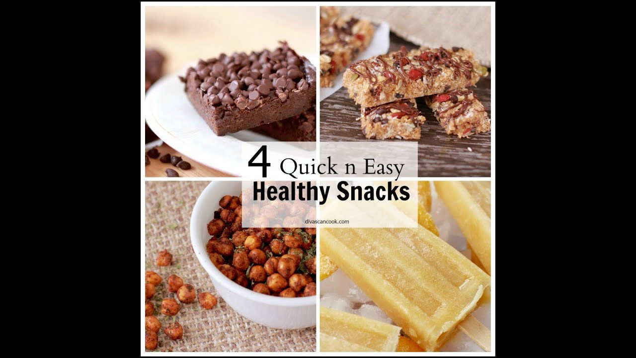 Fast Healthy Snacks  Easy simple healthy snack recipes Food easy recipes