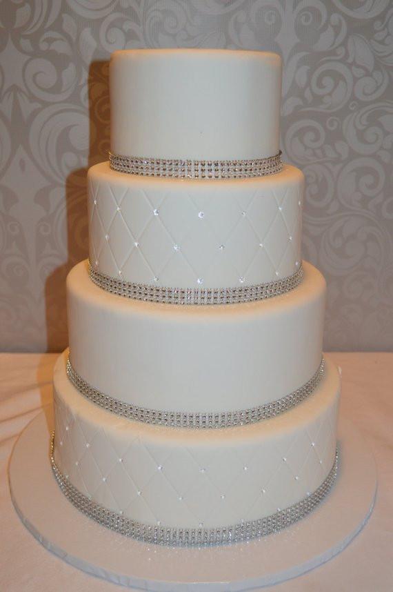 Faux Wedding Cakes  Four Tier Fondant Faux Wedding Cake Fake Wedding Cake
