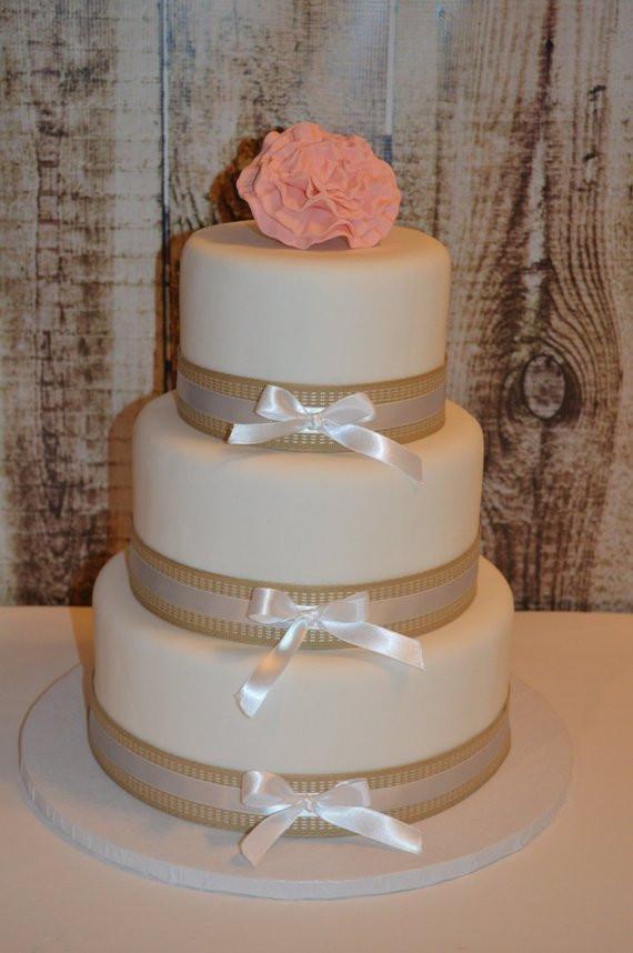 Faux Wedding Cakes  3 Tier Fondant Faux Wedding Cake Fake Wedding Cake Display
