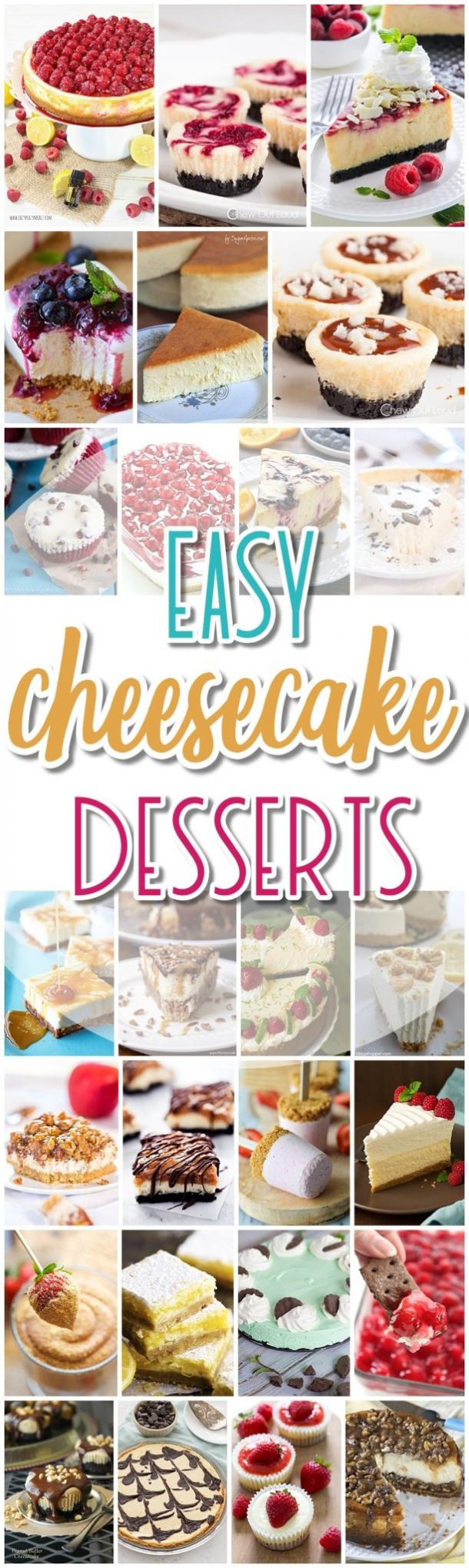 Favorite Easter Desserts  The BEST Cheesecake Recipes – Favorite Easy Party Desserts