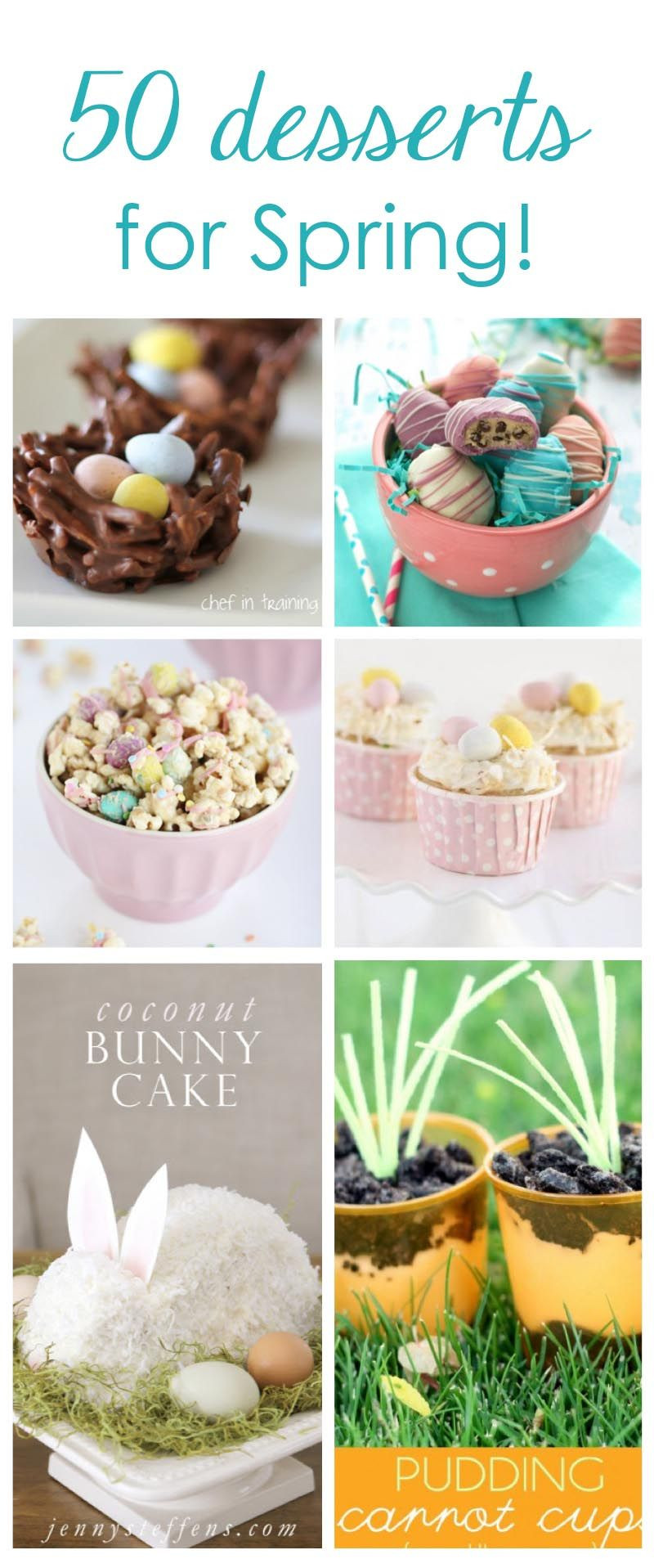Favorite Easter Desserts  50 of the best Easter desserts featured on iheartnaptime