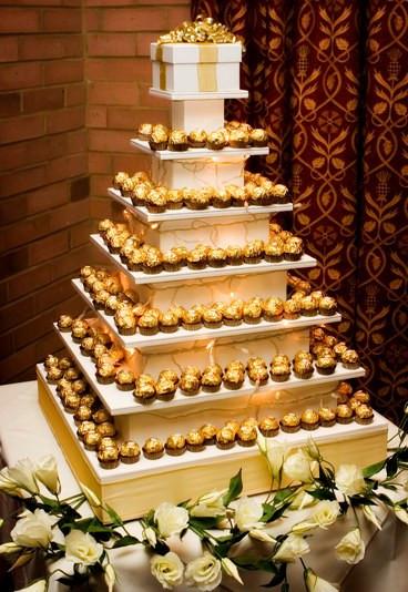 Ferrero Rocher Wedding Cakes  Ferrero Rocher 20 amazing alternative wedding cake ideas