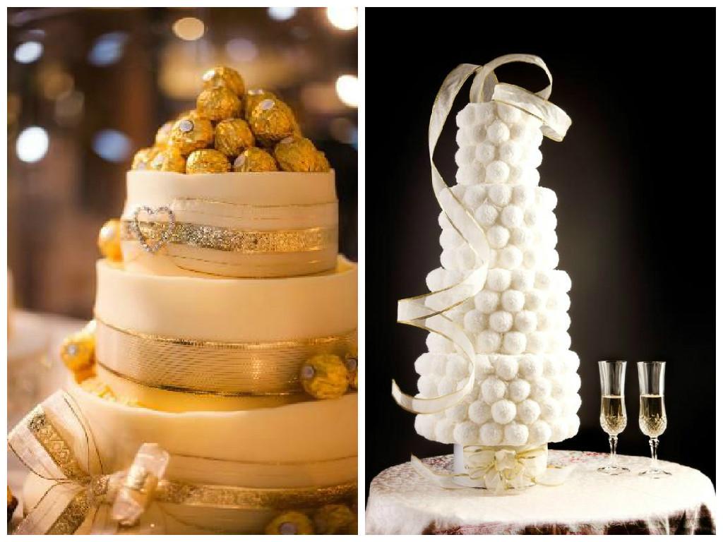 Ferrero Rocher Wedding Cakes  15 Alternative Wedding Cake Ideas Her Beauty