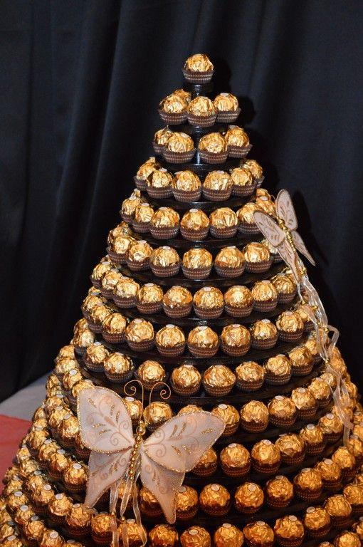 Ferrero Rocher Wedding Cakes  ferrero rocher tower Google Search