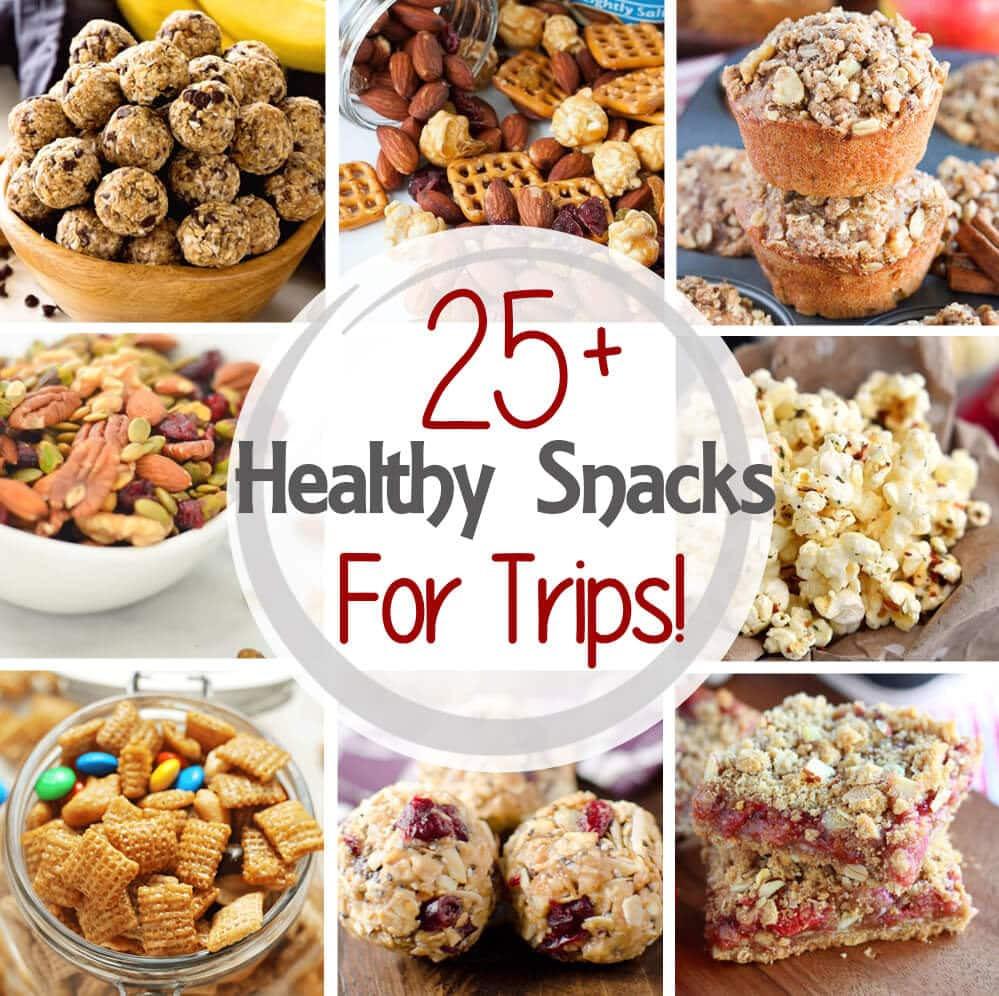 Filling Healthy Snacks  25 Healthy Snacks For Road Trips Julie s Eats & Treats