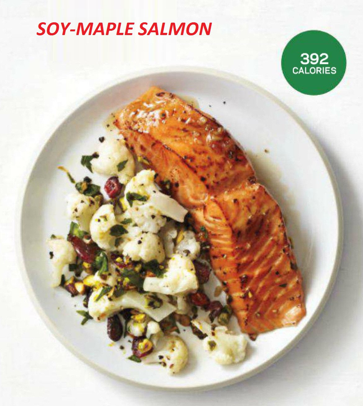 Fish Healthy Recipes  SOY MAPLE SALMON Healthy Fish Recipe 392 Calories How