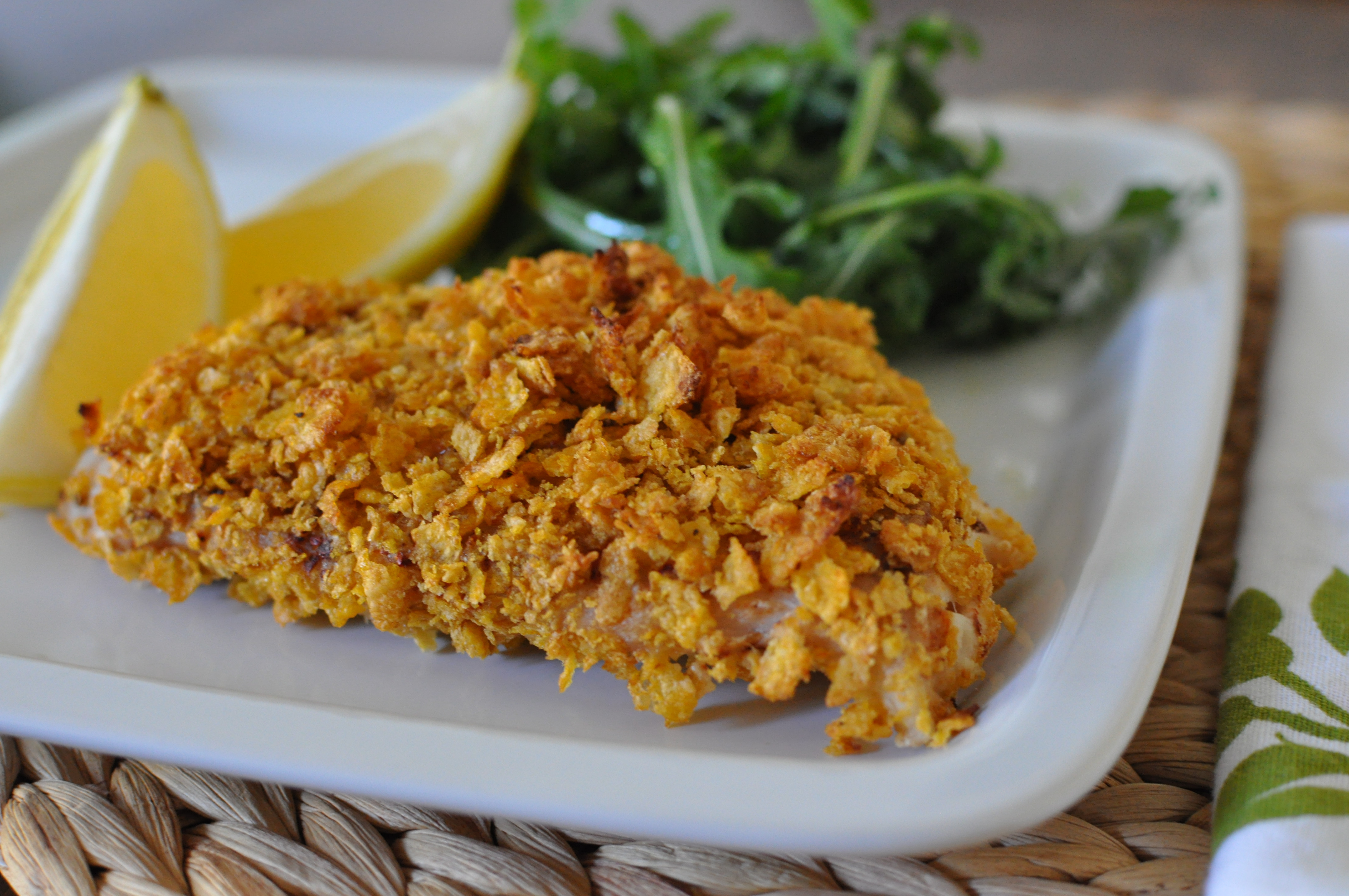 Fish Healthy Recipes  Healthy Cornflake Crusted Fish Recipe