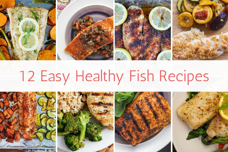 Fish Healthy Recipes  12 Easy Healthy Fish Recipes Slender Kitchen