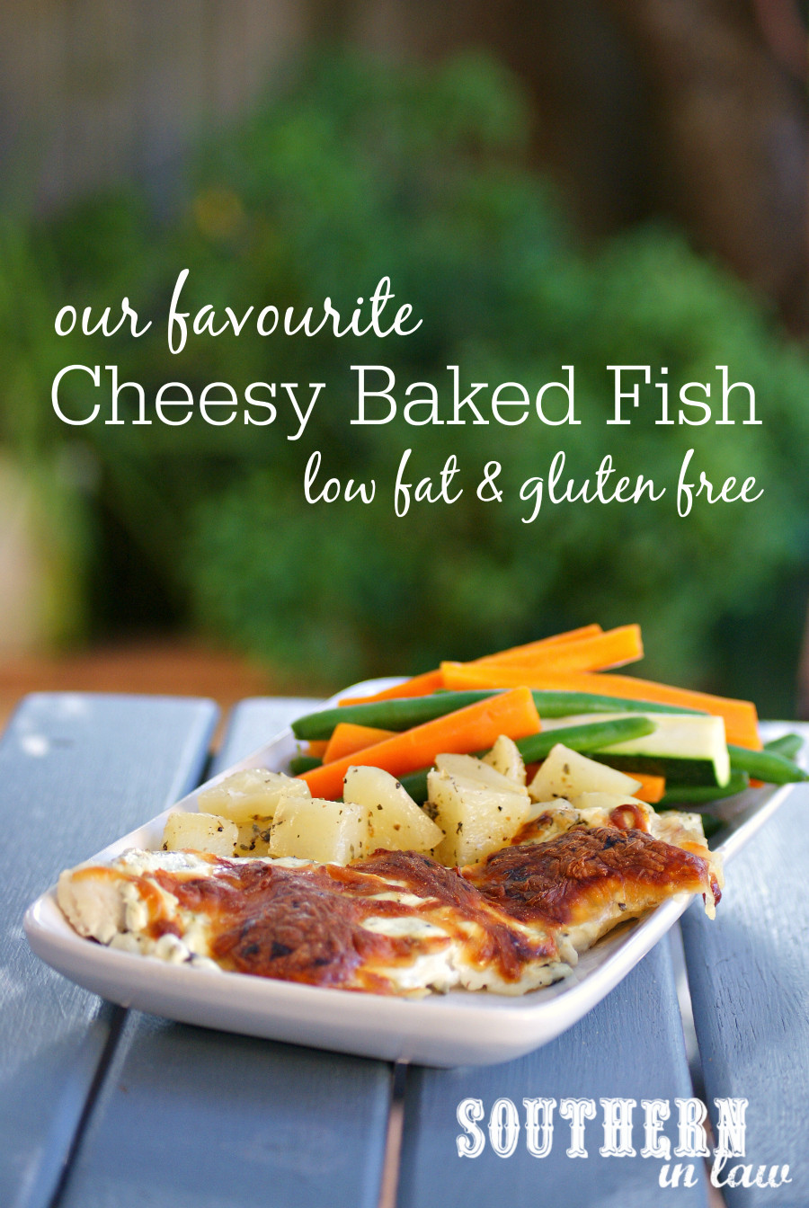 Fish Recipes Healthy  Southern In Law Recipe Our Favourite Cheesy Baked Fish