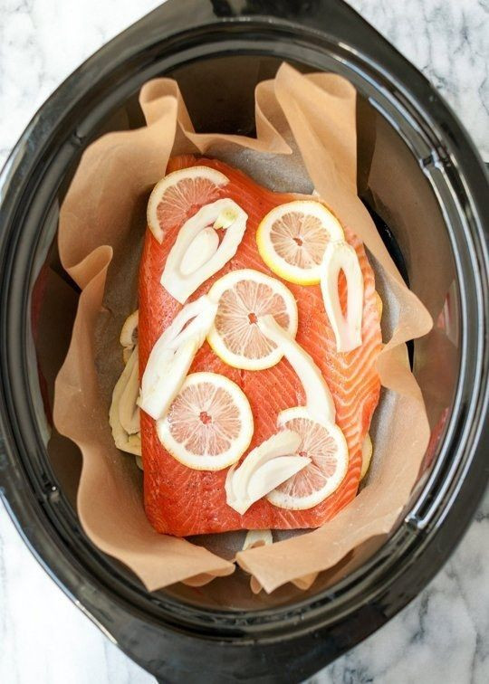 Fish Slow Cooker Recipes Healthy  Best 25 Crock pot shrimp ideas on Pinterest