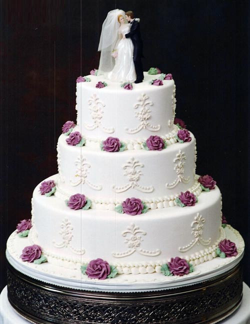Fleur De Lis Wedding Cakes  Wedding Flower Wedding Candles