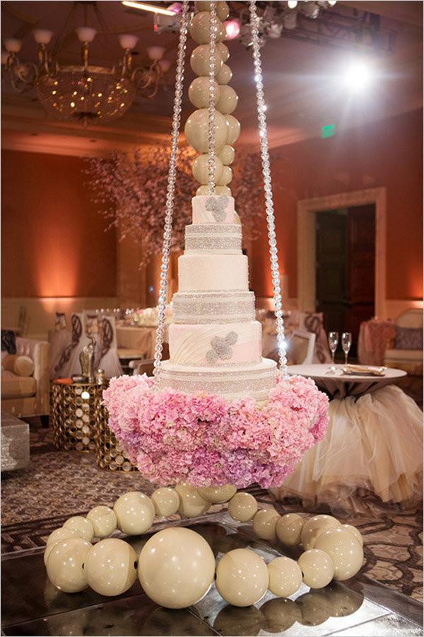 Floating Wedding Cakes  Trend We Love Gravity Defying Wedding Cakes