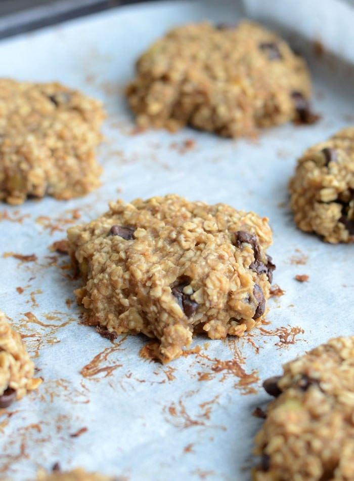 Flourless Oatmeal Cookies Healthy  healthy peanut butter oatmeal cookies